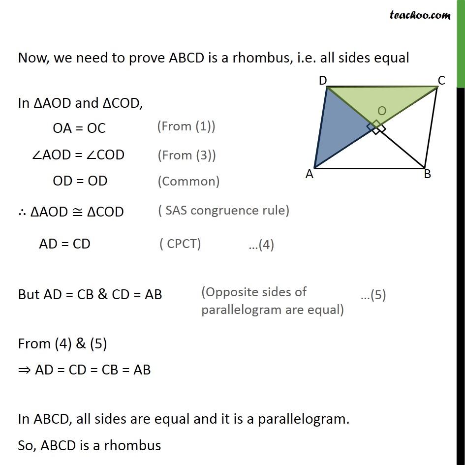 Ex 8.1, 3 - Chapter 8 Class 9 Quadrilaterals - Part 3