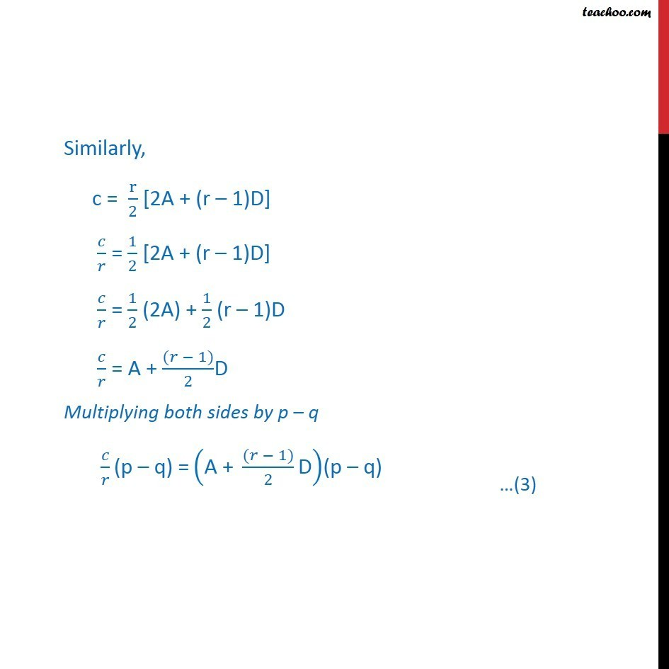 Ex 9.2, 11 - Chapter 9 Class 11 Sequences and Series - Part 5