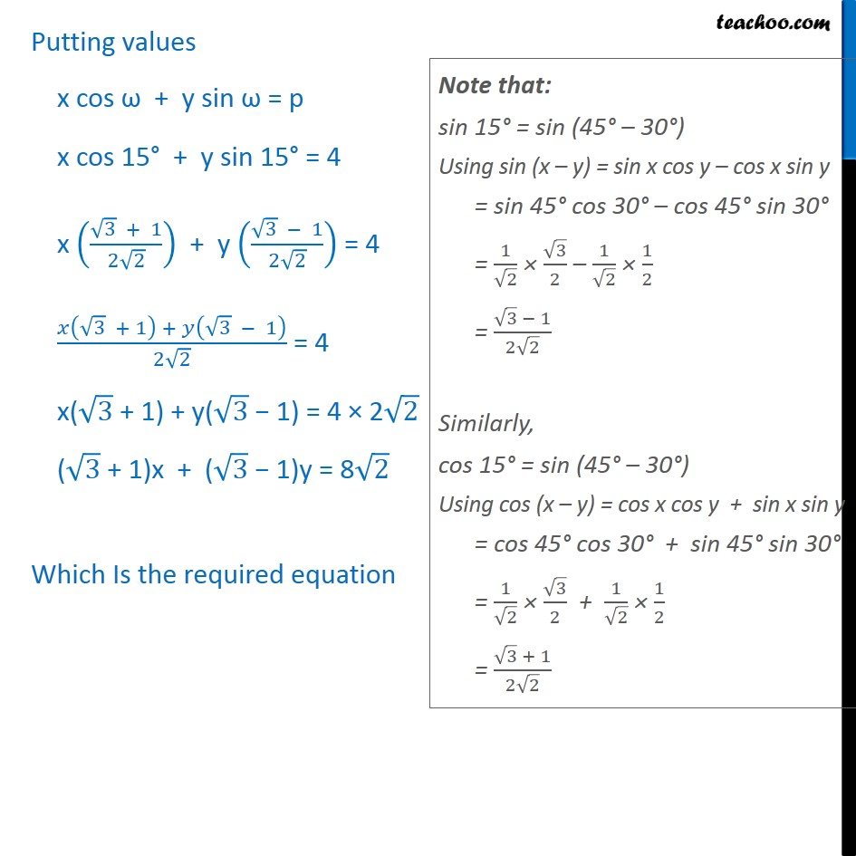 Example 11 - Chapter 10 Class 11 Straight Lines - Part 2
