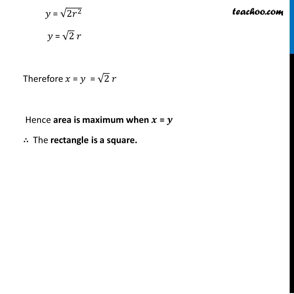 Ex 6.5,19 - Chapter 6 Class 12 Application of Derivatives - Part 7