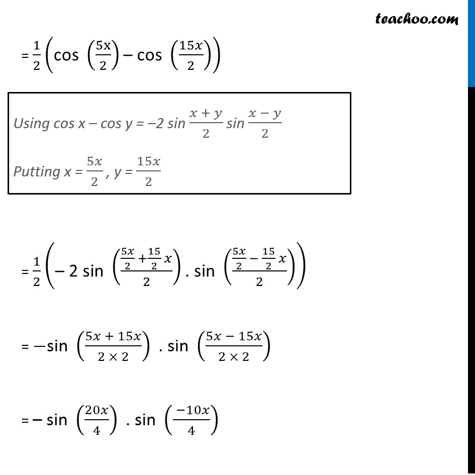 Example 26 - Chapter 3 Class 11 Trigonometric Functions - Part 4