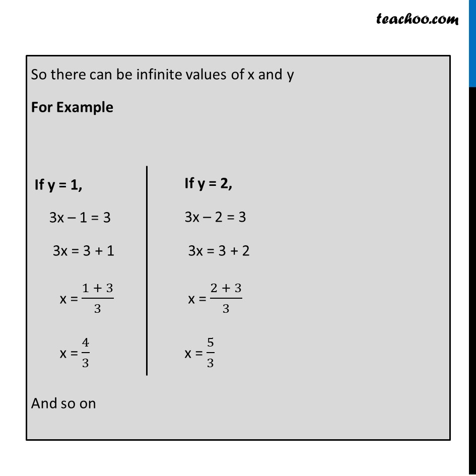 Ex 3.3, 1 - Chapter 3 Class 10 Pair of Linear Equations in Two Variables - Part 10