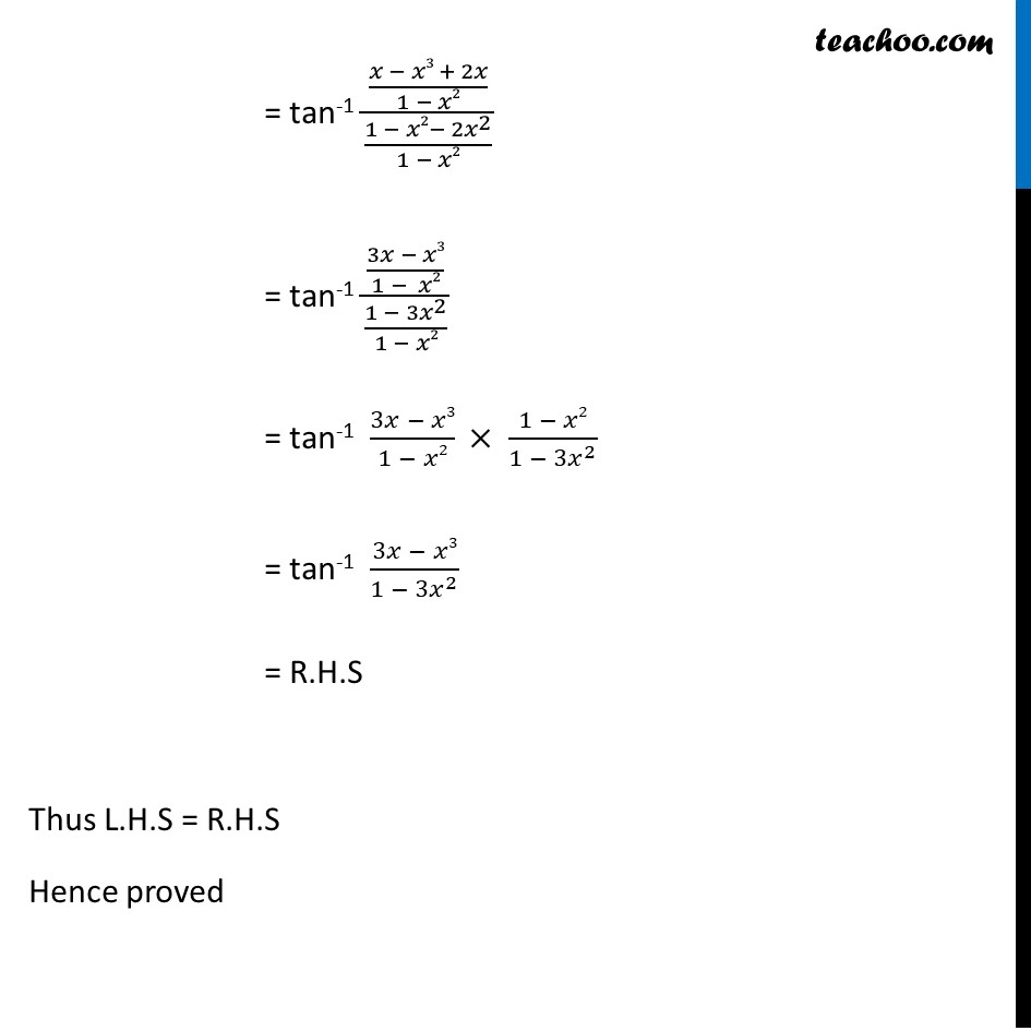 Example 7 - Chapter 2 Class 12 Inverse Trigonometric Functions - Part 2