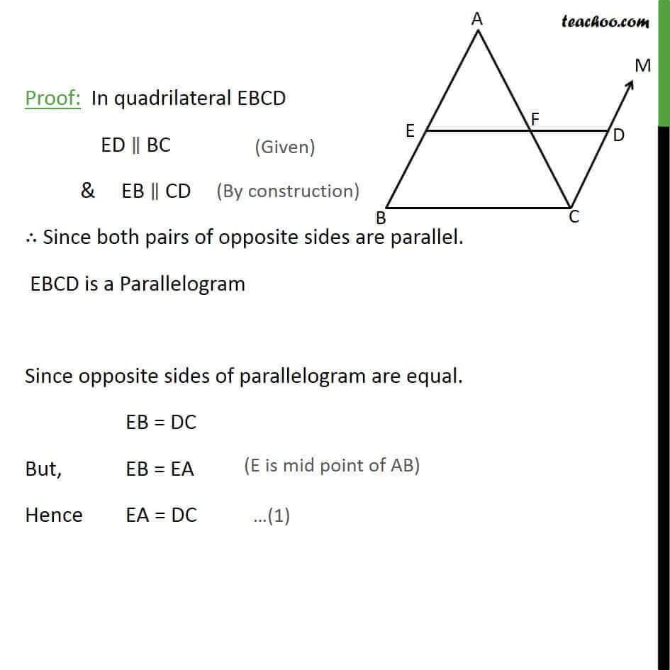 2 Theorem 8.10 - Since Opposite sides of Parallelogram are equal Eb = DC.jpg