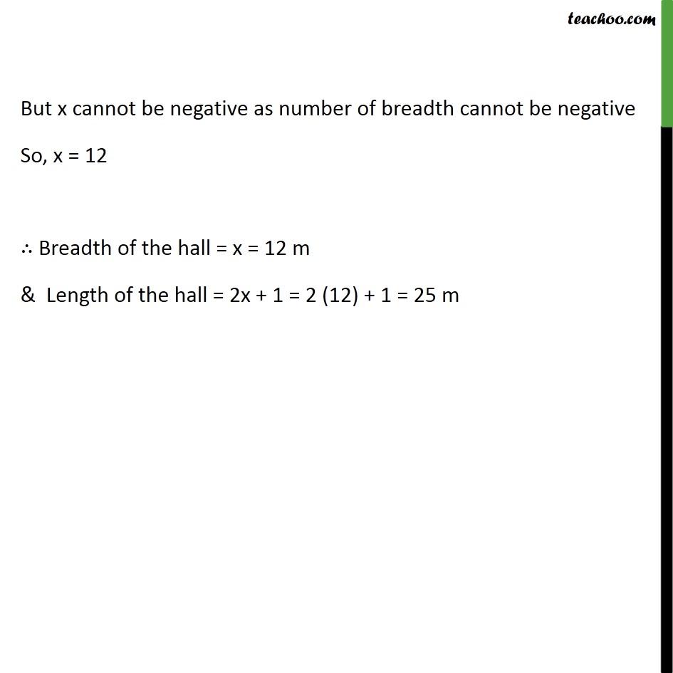 Example 6 - Chapter 4 Class 10 Quadratic Equations - Part 3