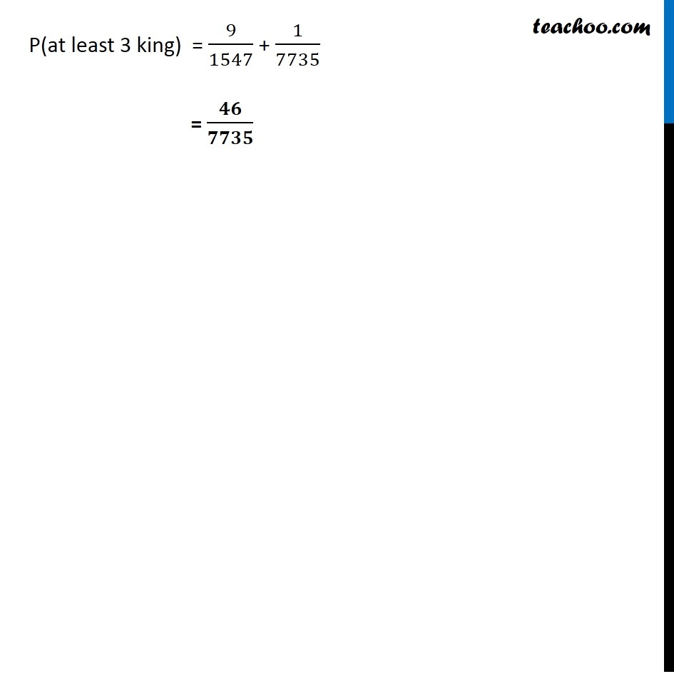 Example  15 - Chapter 16 Class 11 Probability - Part 7