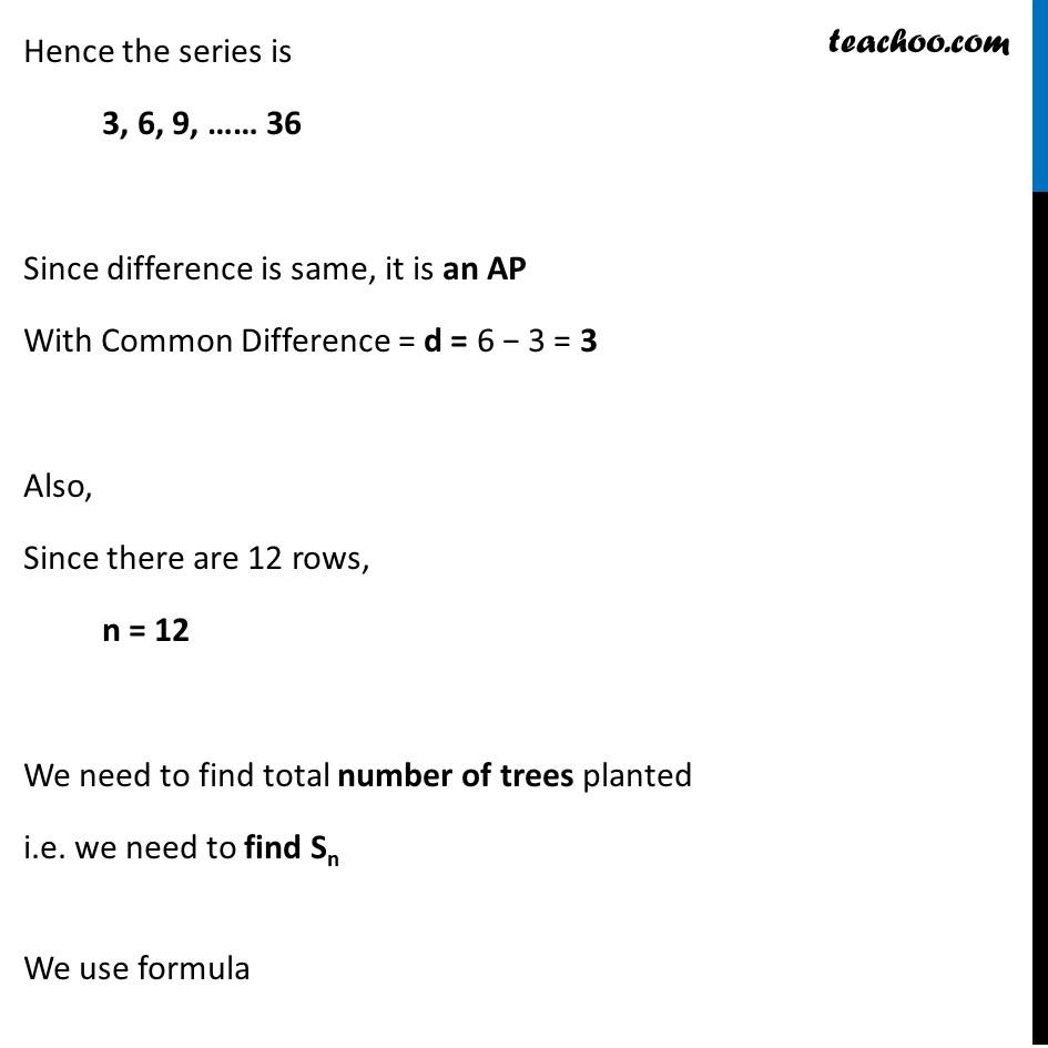 Ex 5.3, 17 - Chapter 5 Class 10 Arithmetic Progressions - Part 2