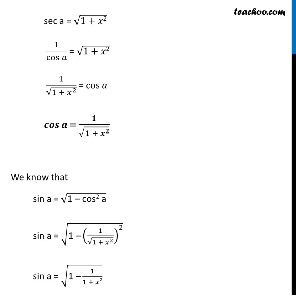 Misc. 15 - Chapter 2 Class 12 Inverse Trigonometric Functions - Part 2