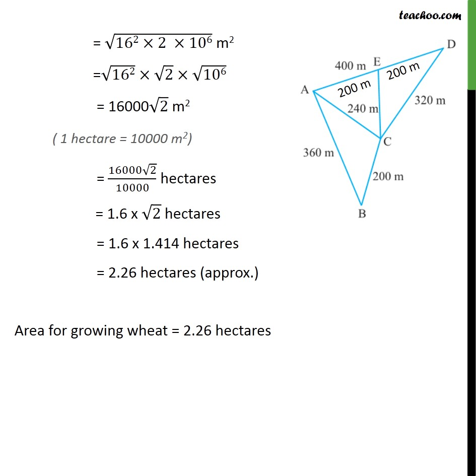 Example 4 - Chapter 12 Class 9 Herons Formula - Part 3