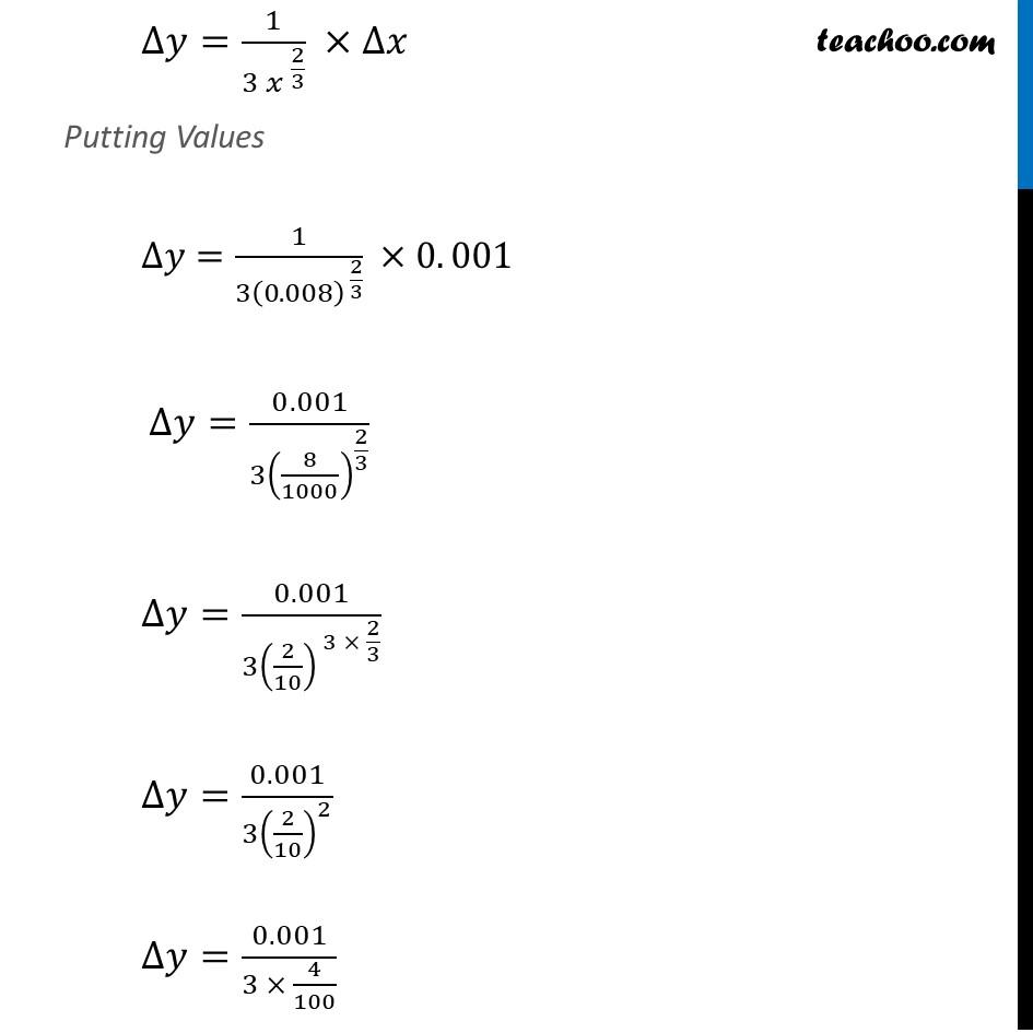 Ex 6.4, 1 (iv) - Chapter 6 Class 12 Application of Derivatives - Part 2