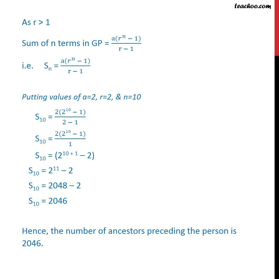 Example 16 - Chapter 9 Class 11 Sequences and Series - Part 2