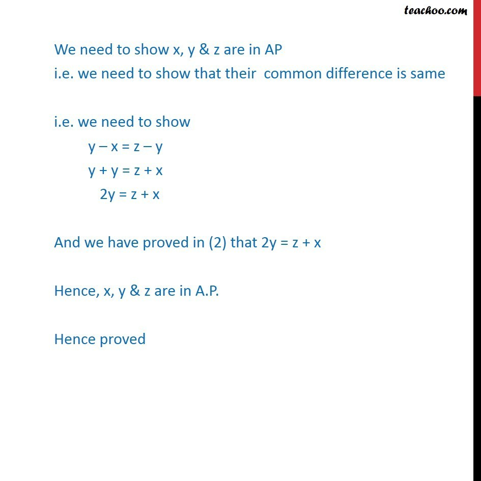Example 22  - Chapter 9 Class 11 Sequences and Series - Part 4