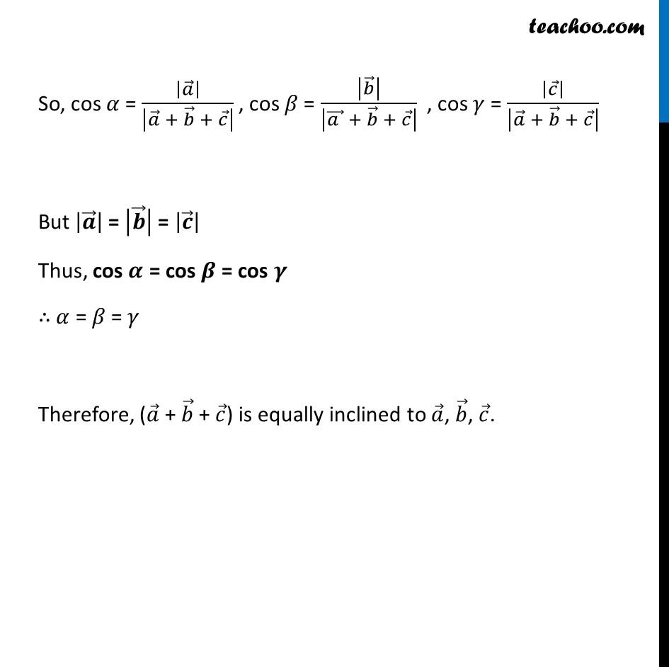Misc 14 - Chapter 10 Class 12 Vector Algebra - Part 3