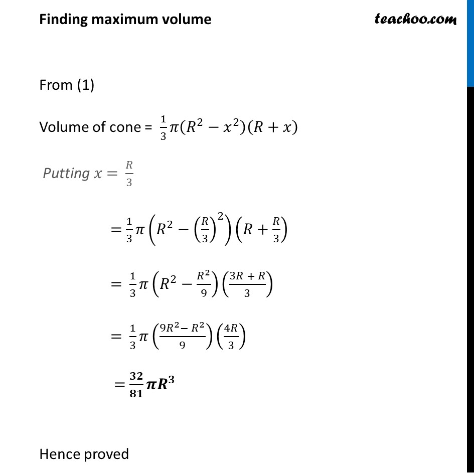 Ex 6.5,23 - Chapter 6 Class 12 Application of Derivatives - Part 7