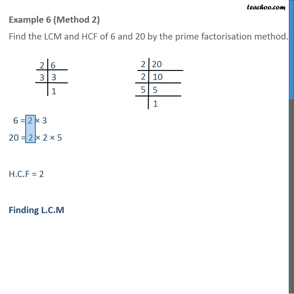 Example 6 - Chapter 1 Class 10 Real Numbers - Part 2