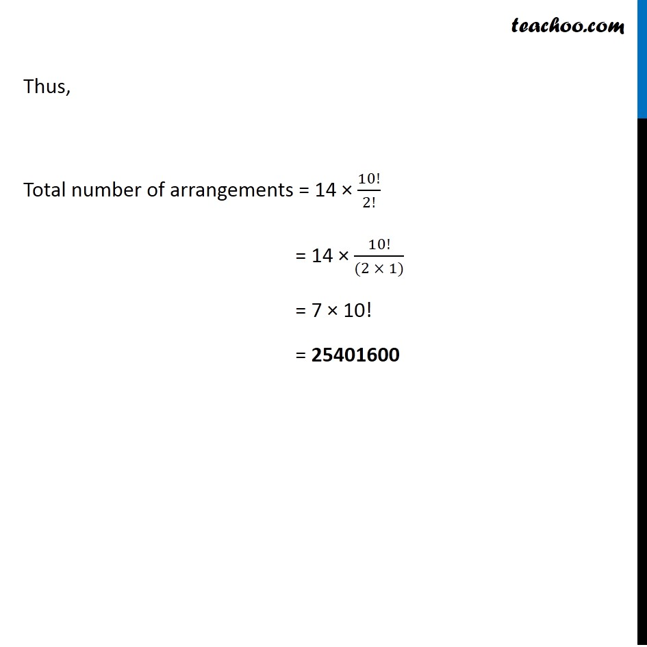 Ex 7.3,11 - Chapter 7 Class 11 Permutations and Combinations - Part 9