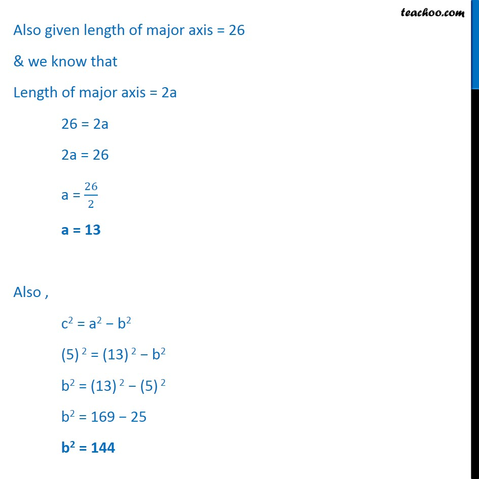 Ex 11.3,  15 - Chapter 11 Class 11 Conic Sections - Part 2