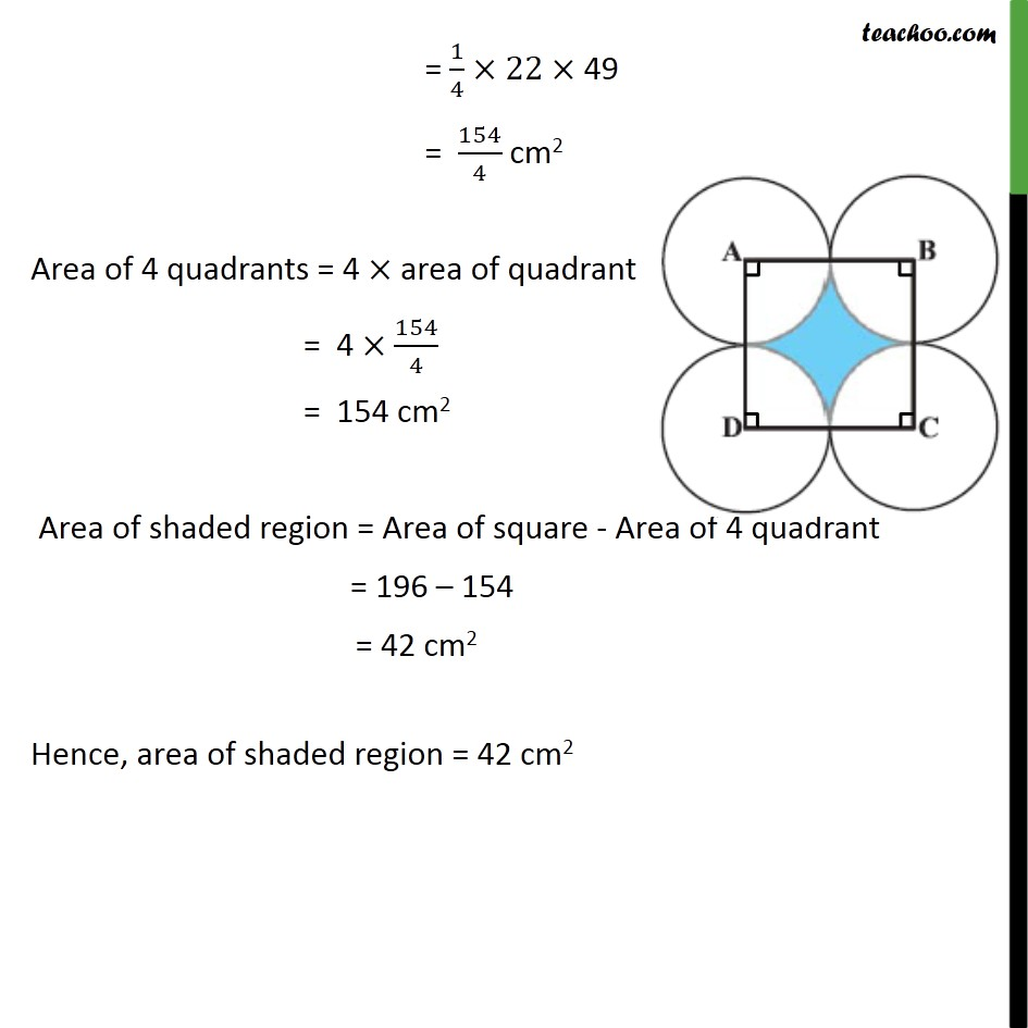 Ex 12.3, 7 - Chapter 12 Class 10 Areas related to Circles - Part 3
