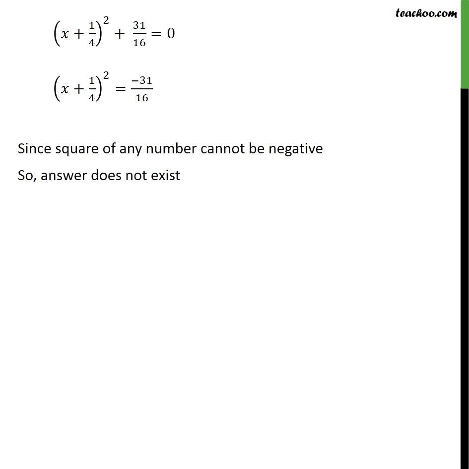 Ex 4.3, 1 (iv) - Chapter 4 Class 10 Quadratic Equations - Part 3