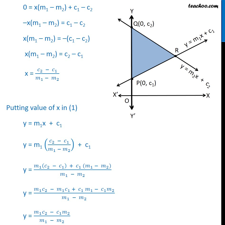 Example 23 - Chapter 10 Class 11 Straight Lines - Part 3
