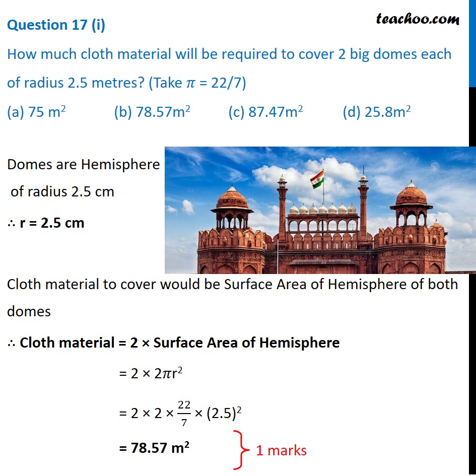 Question 17 - CBSE Class 10 Sample Paper for 2021 Boards - Maths Basic - Part 2