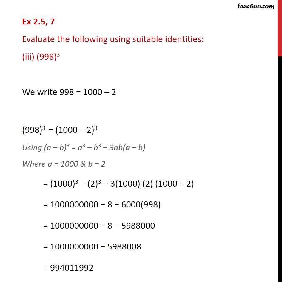 Ex 2.5,7 - Chapter 2 Class 9 Polynomials - Part 3