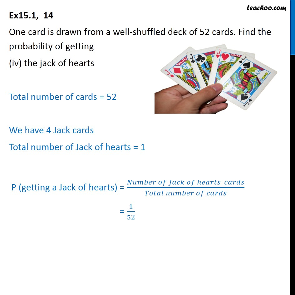 Ex 15.1, 14 - Chapter 15 Class 10 Probability - Part 4