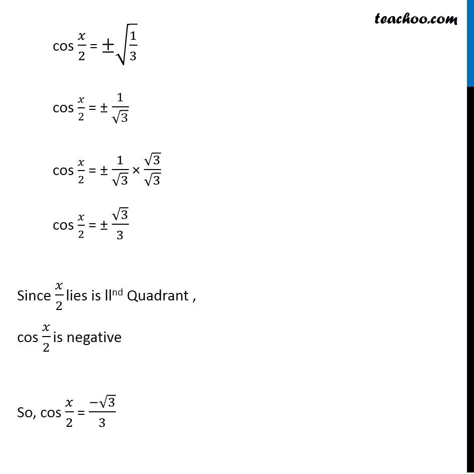 Misc 9 - Chapter 3 Class 11 Trigonometric Functions - Part 4