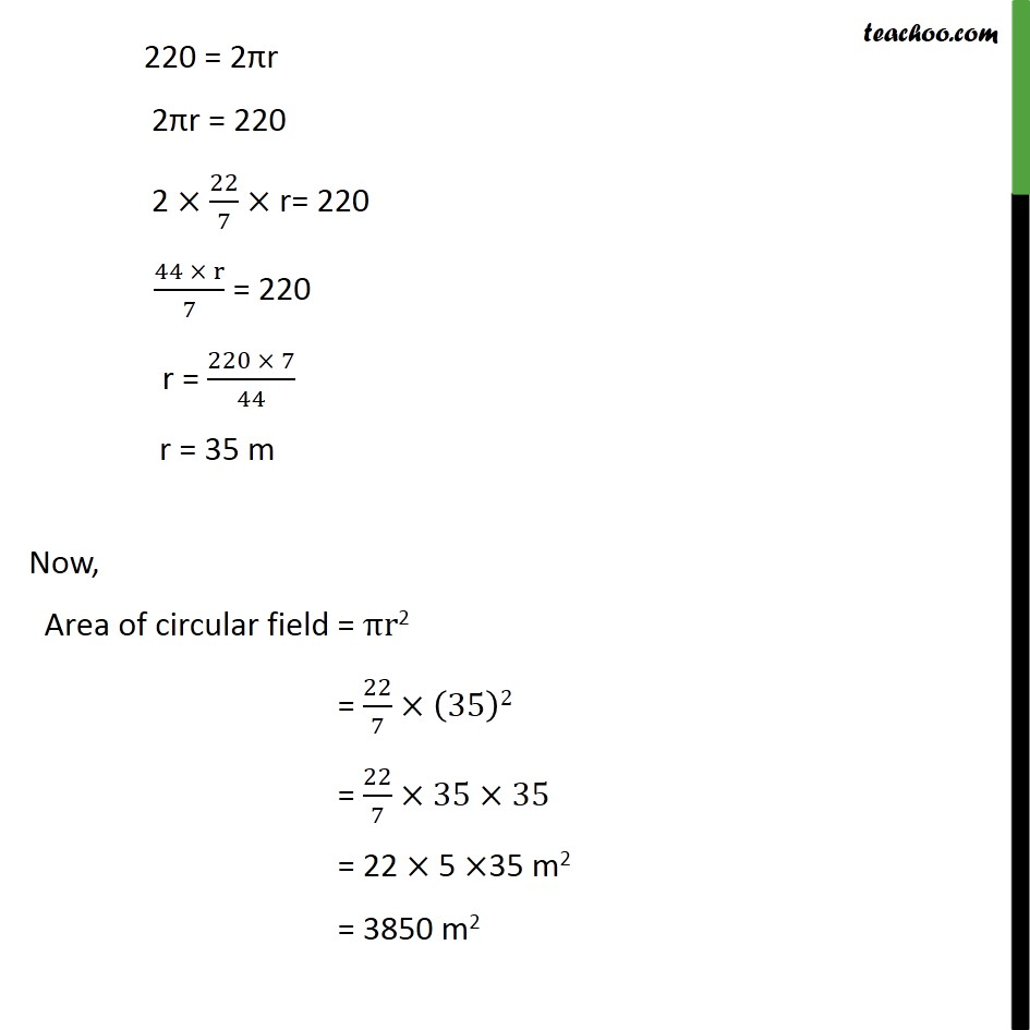 Example 1 - Chapter 12 Class 10 Areas related to Circles - Part 2