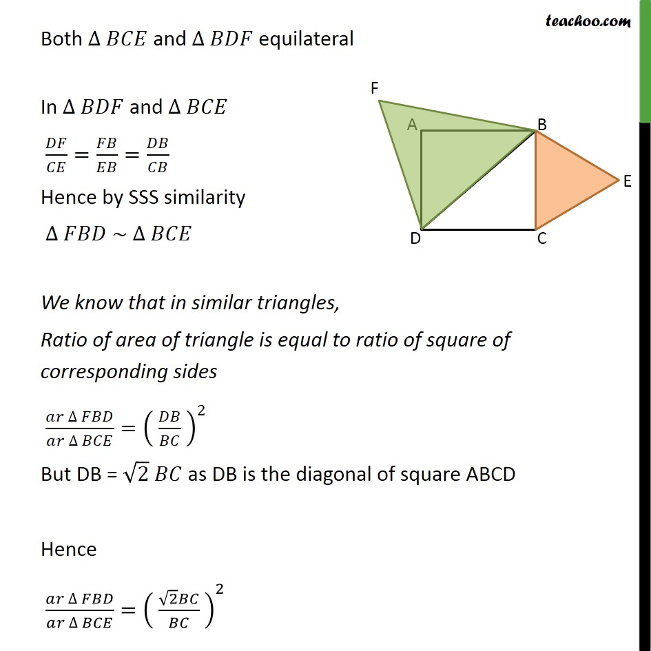 Ex 6.4, 7 - Chapter 6 Class 10 Triangles - Part 5