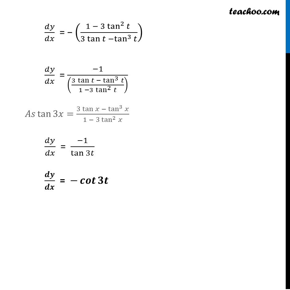 Ex 5.6, 7 - Chapter 5 Class 12 Continuity and Differentiability - Part 10