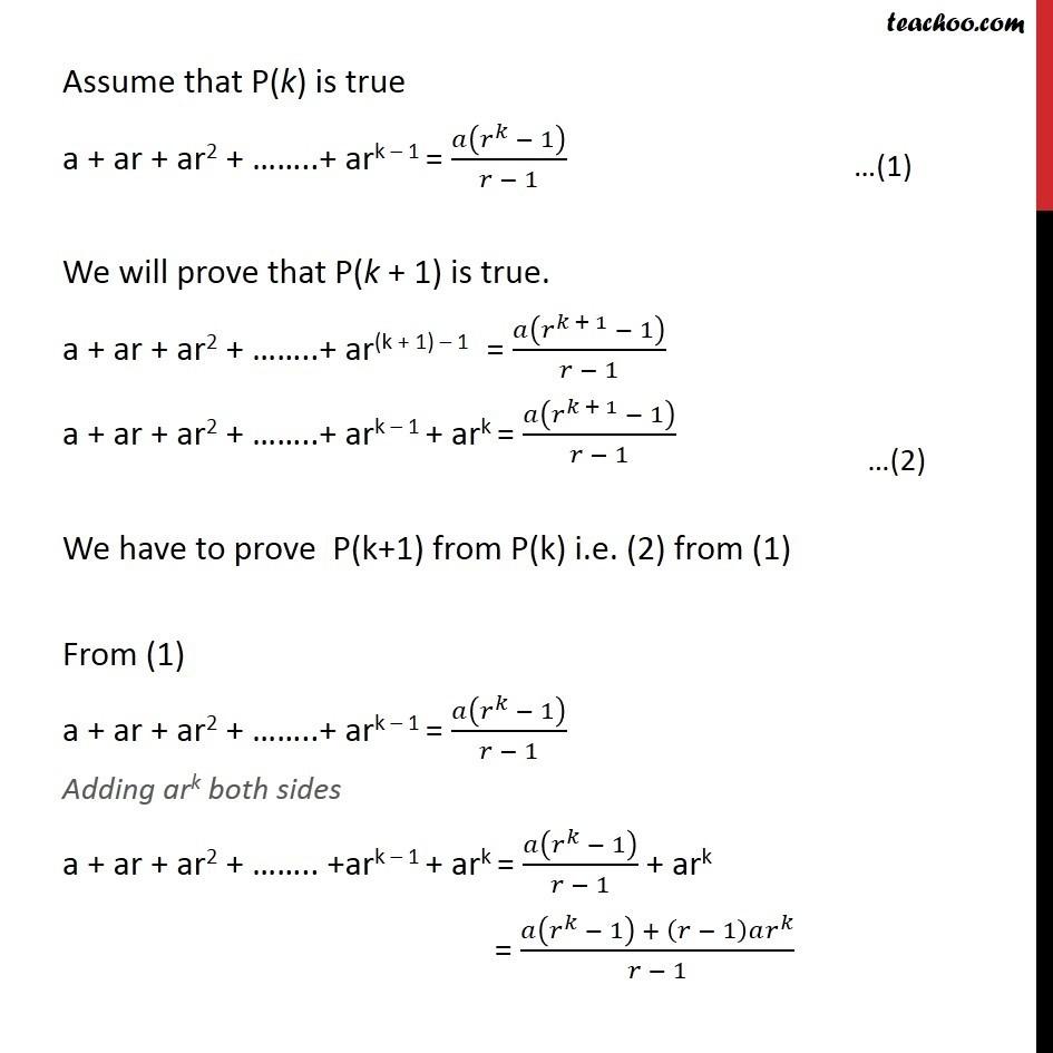 Ex 4.1, 12 - Chapter 4 Class 11 Mathematical Induction - Part 2
