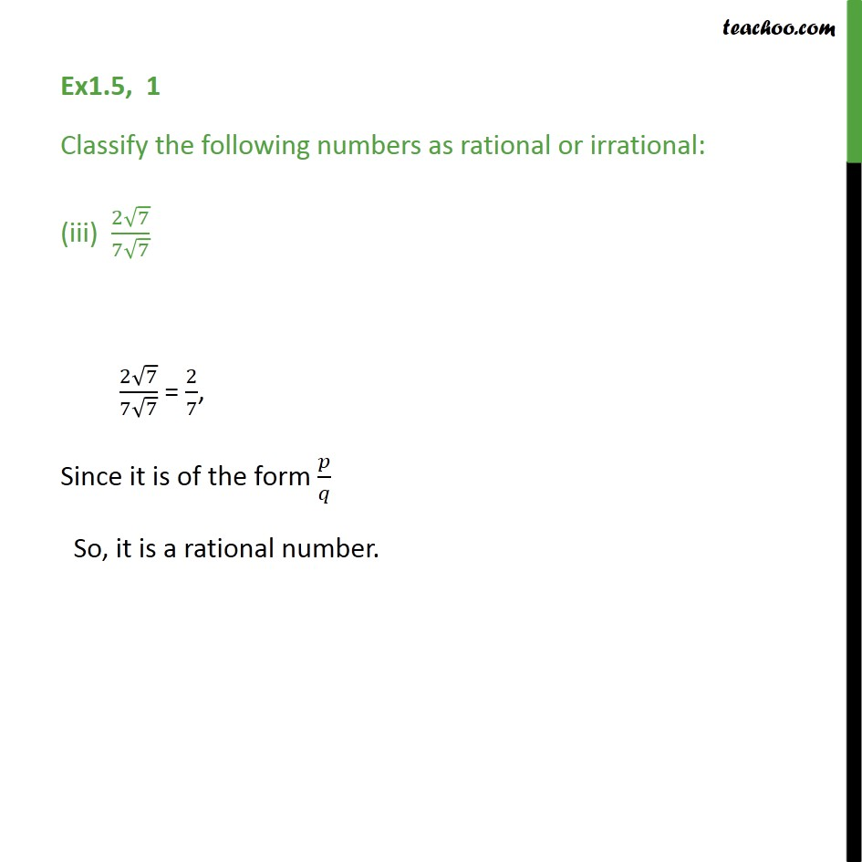 Ex 1.5,1 - Chapter 1 Class 9 Number Systems - Part 3
