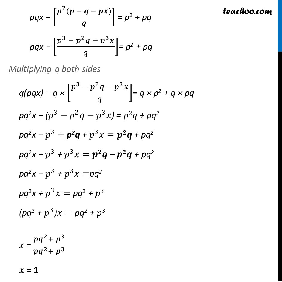 Ex 3.7, 7 (Optional) - Chapter 3 Class 10 Pair of Linear Equations in Two Variables - Part 3