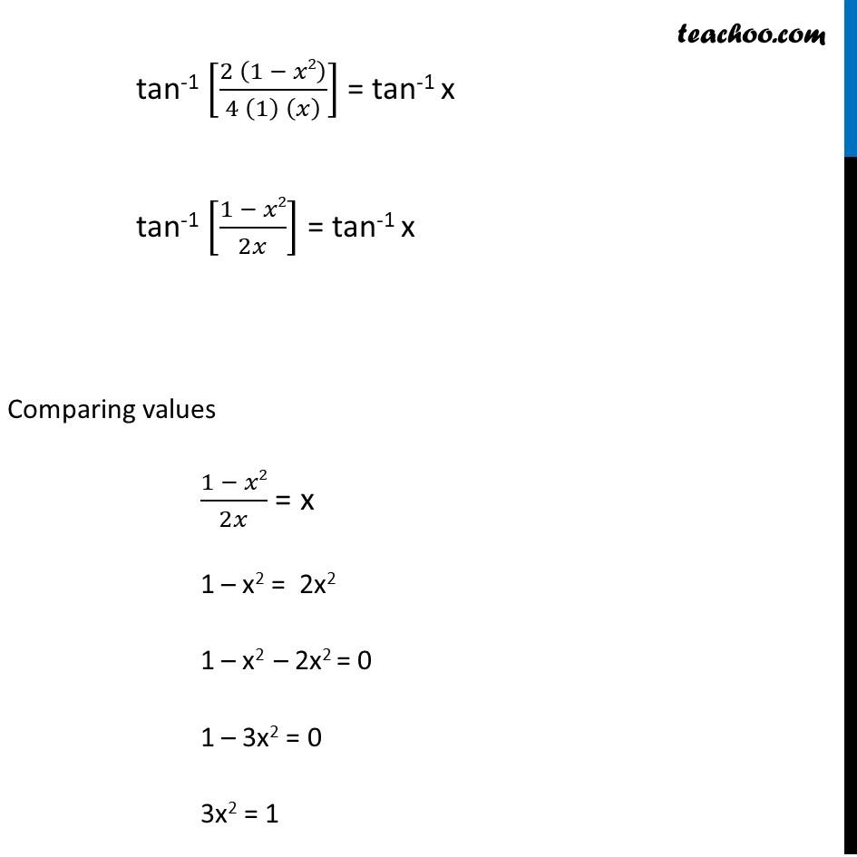Misc. 14 - Chapter 2 Class 12 Inverse Trigonometric Functions - Part 3