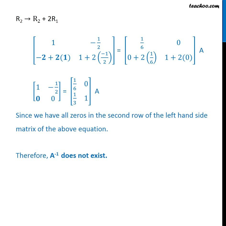 Ex 3.4, 12 - Chapter 3 Class 12 Matrices - Part 2