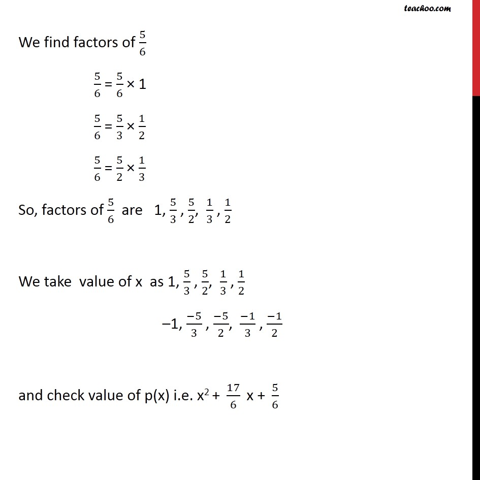 Example 13 - Chapter 2 Class 9 Polynomials - Part 3