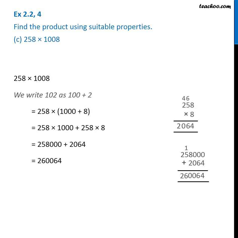 Ex 2.2, 4 - Chapter 2 Class 6 Whole Numbers - Part 3