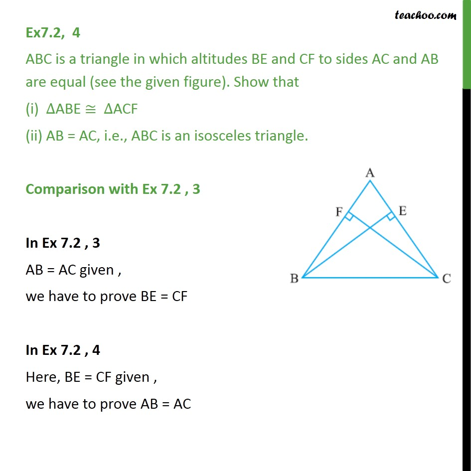 Ex 7.2, 4 - Chapter 7 Class 9 Triangles - Part 3