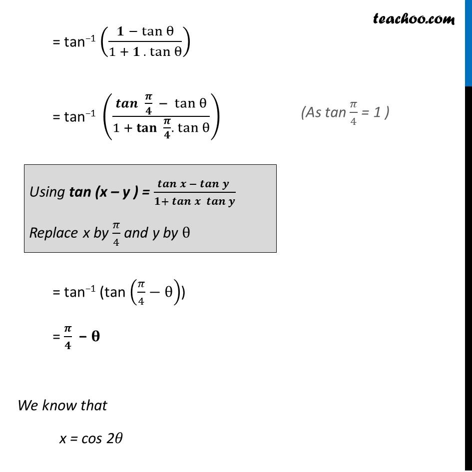 Misc. 11 - Chapter 2 Class 12 Inverse Trigonometric Functions - Part 3
