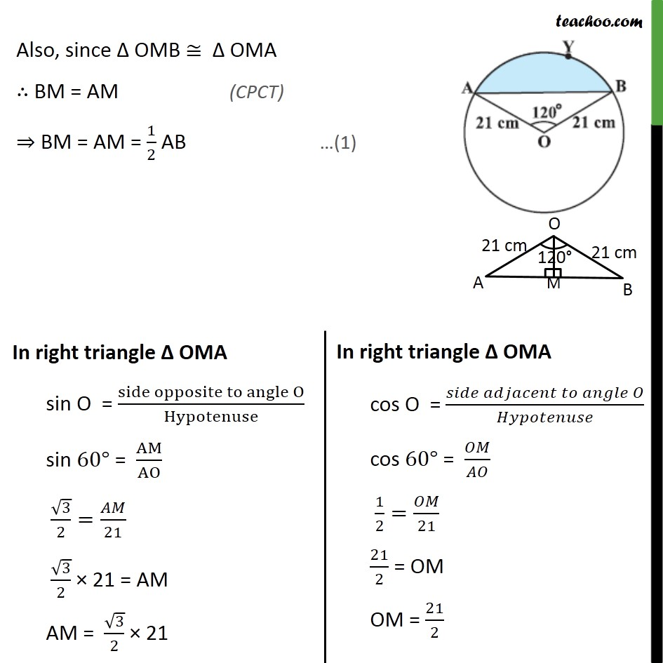 Example 3 - Chapter 12 Class 10 Areas related to Circles - Part 3
