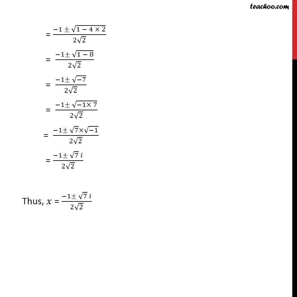 Ex 5.3, 10 - Chapter 5 Class 11 Complex Numbers - Part 2