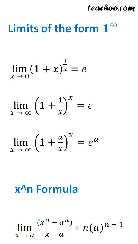 Limits of the form 1 to the power infinity and xn formula.jpg