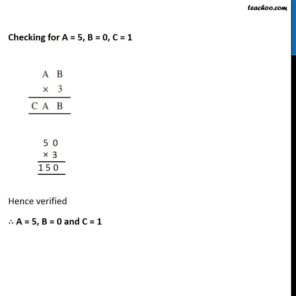 Ex 16.1, 5 - Chapter 16 Class 8 Playing with Numbers - Part 4