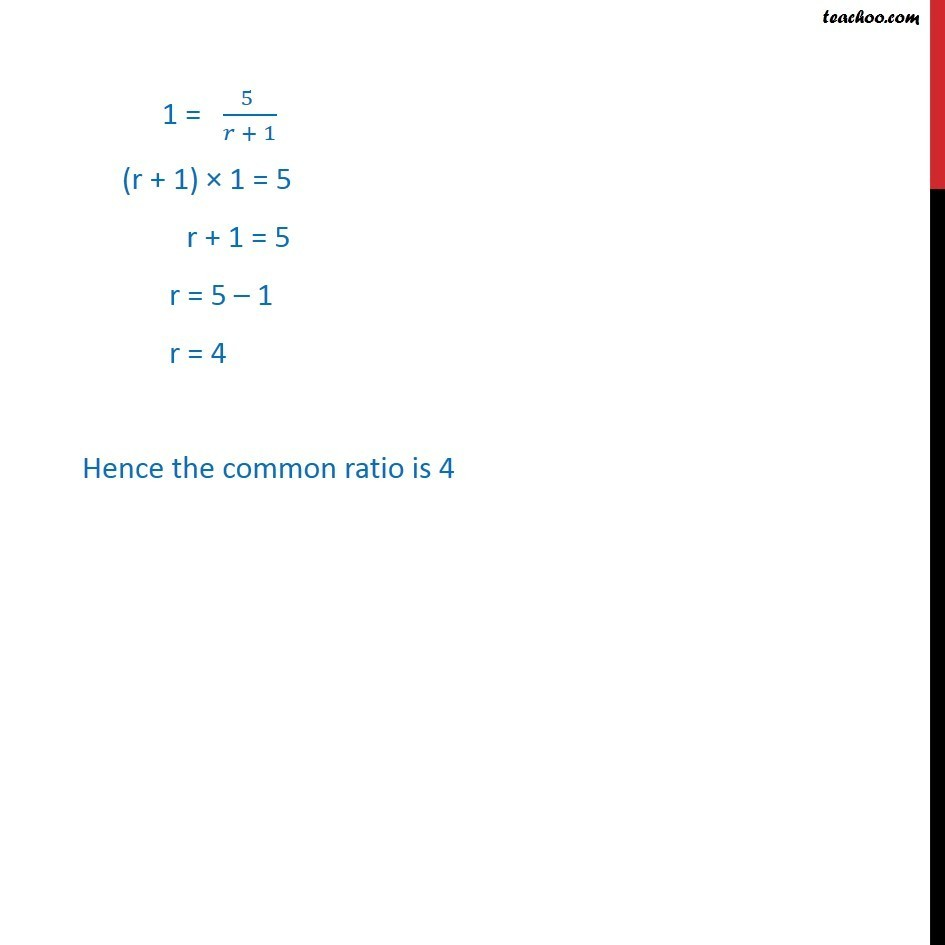 Misc 11 - Chapter 9 Class 11 Sequences and Series - Part 5