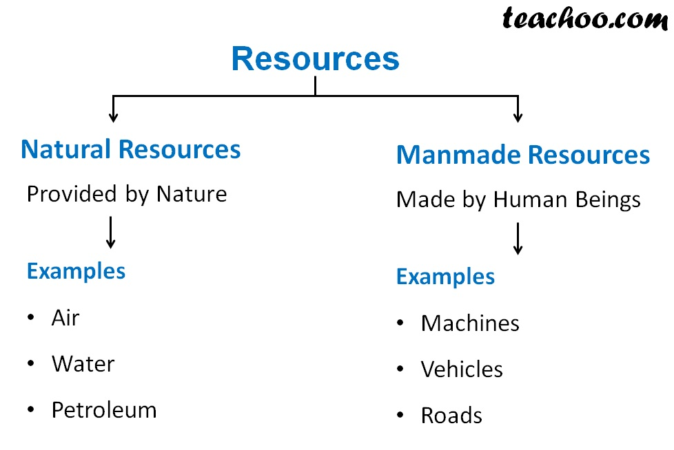 Different types of Resources - Teachoo.jpg