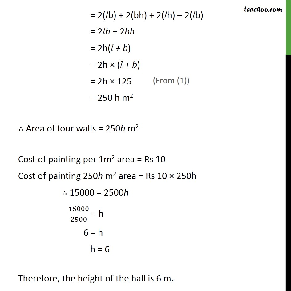 Ex 13.1, 3 - Chapter 13 Class 9 Surface Areas and Volumes - Part 2