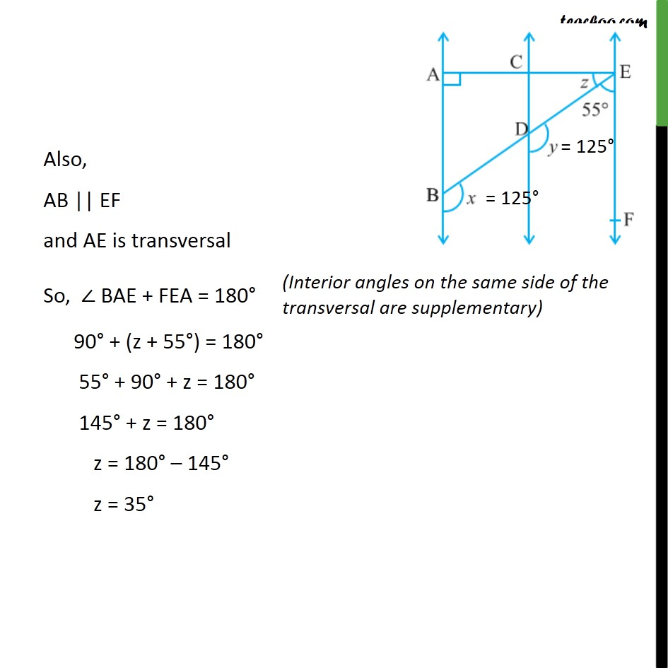 Example 6 - Chapter 6 Class 9 Lines and Angles - Part 2