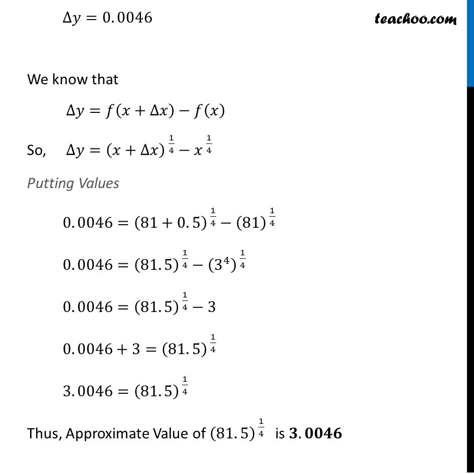 Ex 6.4, 1 (xiii) - Chapter 6 Class 12 Application of Derivatives - Part 3
