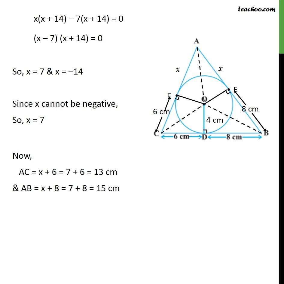 Ex 10.2, 12 - Chapter 10 Class 10 Circles - Part 7